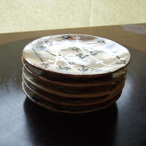乾山写し絵替り五寸皿