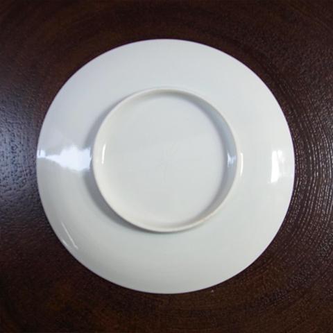白磁カップソーサー