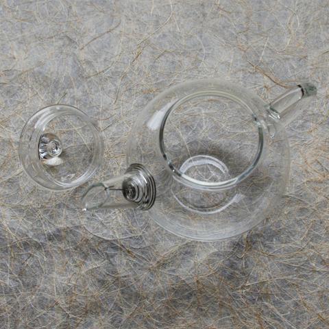 ガラスの急須
