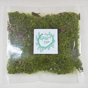 GREEN tea ちりめん