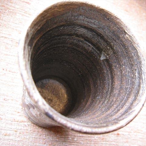 刷毛目鉄絵フリーカップ