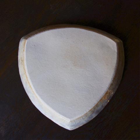 雲錦 三角皿