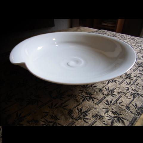 白磁七寸鉢