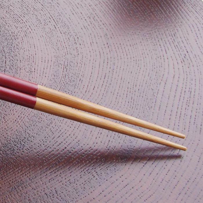 煤竹取り箸